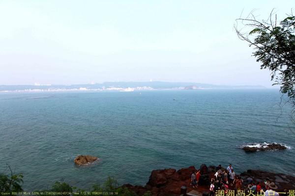 涠洲岛火山口一景